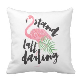Pink Flamingo Pillow Gift