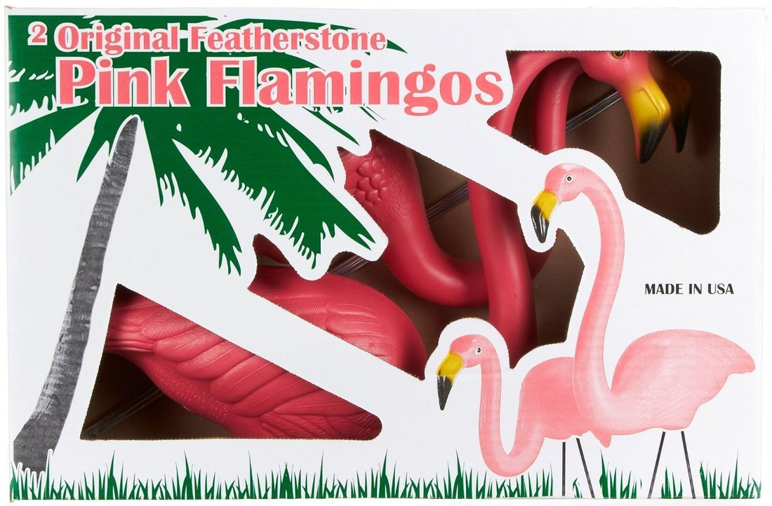 Original Pink Flamingo lawn ornaments