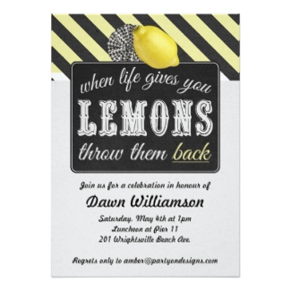 Divorce Party Invitations Retro Invites
