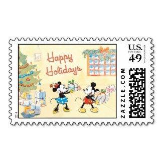 Classic Mickey and Minnie Custom Postage
