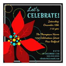 Winter Holiday Party Invitations