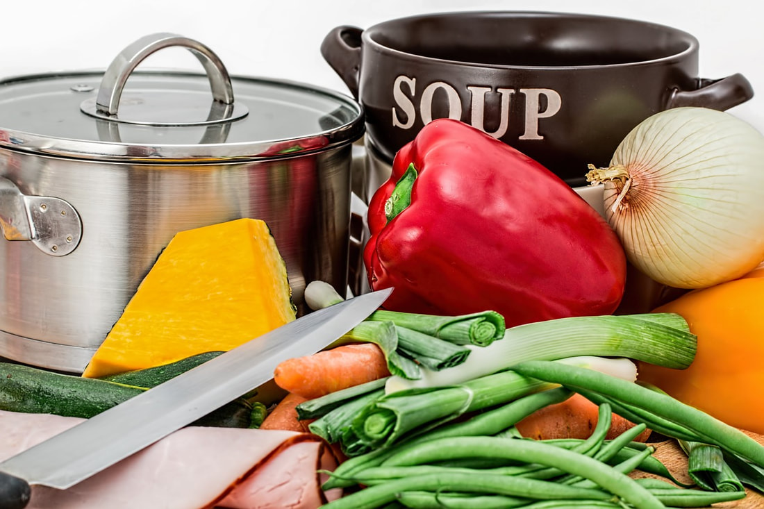 Soup Ingredients photo courtesy of Pixabay.